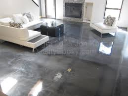 using metallic epoxy on a concrete floor metallic marble looking