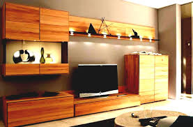 Living Room Cabinet For Built In Wooden Showcase Designs With Lcd Pictures Dining Wall Unit Tv