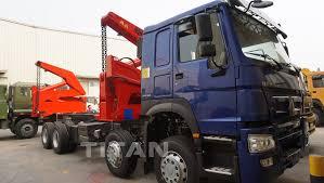 100 20 Ft Truck Ft Container Side Loader Truck Truck Side Loader Side Lifter
