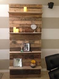 Living Room Palle Shelves