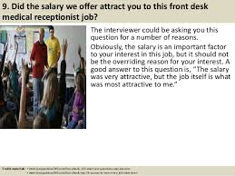 Front Desk Job Salary by Top 10 Front Desk Medical Receptionist Interview Questions And Answers