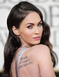 Megan Fox Tattoo Gone Wrong Worst Celebrity Tattoos Ever