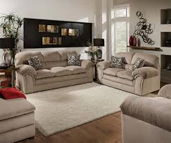 Levon Sofa Charcoal Upholstery by Living Room Simmons Flannel Charcoal Sofa Living Rooms