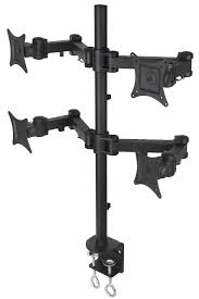 Desk Mount Monitor Arm Singapore by Single Lcd Monitor Desk Mount Stand Fully Adjustable Tilt For 1
