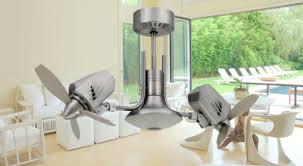 Small Oscillating Outdoor Ceiling Fan by Mustang Ii Oscilating Double Ceiling Fan