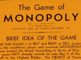 1935 PATENT PENDING MONOPOLY GAME This Is The Late Patent Pending Instructions With 1509312 Also Shows New Short Game Of Monopoly Rules