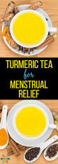Uterus Lining Shedding Pain by Turmeric Tea For Menstrual Relief Heavy Period Treatment