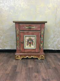 voglauer anno 1800 altrosa landhaus schrank kommode bauernschrank antik stil ebay