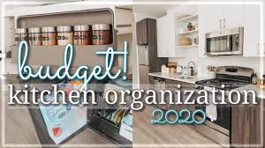Small Kitchen Organizing Ideas Small Kitchen Organization On A Budget 2020 Renter Friendly Kitchen Organization Hacks Ideas