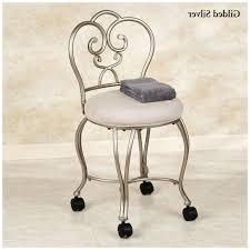 Acrylic Vanity Chair With Wheels by Vanity Stools And Chairs Latest Delectable Vanity Chairs And