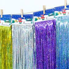 Foil Fringe Curtain Nz by Online Buy Wholesale Diy Party Backdrop From China Diy Party