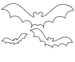Bats Bat Coloring Page Halloween Printable Pages