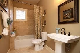 craftsman full bathroom with pedestal sink by samantha maret