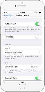Use Do Not Disturb on your iPhone iPad and iPod touch Apple