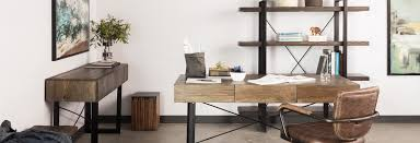 rustic home office furniture and decor