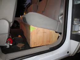SilveradoSierra.com • How To Build A Under Seat Storage Box : How-To ... Llbean Truck Seat Fishing Organizer Hq Issue Tactical 616636 At Sportsmans Guide Kick Mat For Car Auto Back Cover Kid Care Protector Best With Tablet Holder More Storage Home Luxury Automotive Accsories Interiors Masque Headrest Luggage Bag Hook Hanger Kit For New 2 Truck Car Hanger Hook Bag Organizer Seat Headrest Byd071 Mud River Trucksuv Gamebird Hunts Store Backseat Perfect Road Trip Accessory Kids Smiinky Covers Ford Rangertactical Fordtactical Kryptek Custom