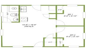 14x40 Cabin Floor Plans by 24 X 24 Cabin Plans Flats Designs And Floor Plans