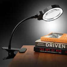 Lighted Magnifying Craft Lamp by Fancii Daylight Led 3x Magnifying Lamp Rechargeable With Metal