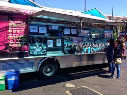 Brass Knuckle Food Truck At SOMA StreatFood Park In San Francisco ...