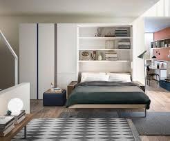 hochwertige design schrankbetten mit tisch sofa oder regal