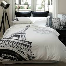 Home Republic Par Avion Quilt Covers Coverlets Find This Pin And More On Decor By Enettesheim Modern Black White Paris Bedroom
