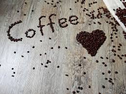 Aromatic Caffeine Coffee Beans Heart Love Roasted Rustic Wooden 4k Wallpaper And Background