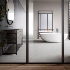 modernes badezimmer boffi aus eiche