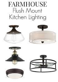 lights glass flush mount ceiling light kitchen lighting black