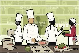 Restaurant Kitchen Royalty Free Stock Vector Art