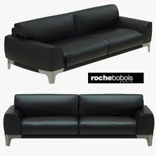 100 Roche Bobois Leather Sofa SNOOKER Sofa 3D Model