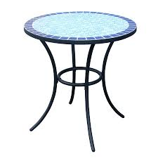 tiles tile bistro table mosaic tile bistro table and chairs