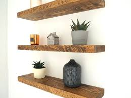 Wood Floating Shelves Rustic Chunky Shelf Mantel Reclaimed Bathroom