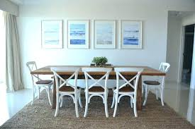 Nautical Dining Room Tables Apartment Table Centerpieces