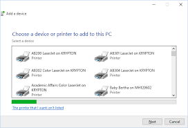 And Type Tp1printer Name In The Field Click Next Note That Once You Tp1 Printers On Student Print Server