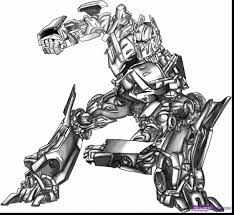 Superb How To Draw Transformers Optimus Prime With Coloring Page And