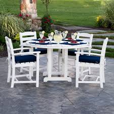 The Dump Patio Furniture by Polywood Round 48 In Dining Table