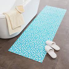 badematte dynamic24 rechteckig badematte 200x65cm himmel rutschfest badezimmer badvorleger duschmatte bad teppich kaufen otto