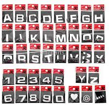 Best Letter 3d Sticker Auto Chrome Badge Letter Decal Number