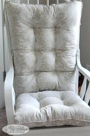 Glider Rocking Chair Cushions For Nursery by Cushions For Rocking Chairs Nursery Chair Cushions In Fabrics You
