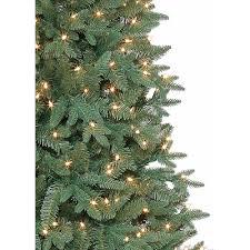 3ft Pre Lit Christmas Tree by Artificial Christmas Tree Pre Lit 7 5 U0027 Sanford Fir Clear Lights