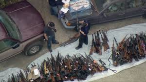 100 Holmby RAW 100s Of Guns Seized In Hills