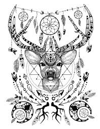 Image Result For Native American Spirit Animal Coloring Pages