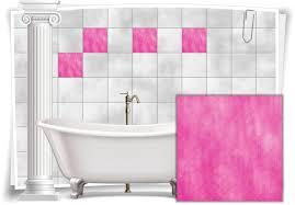 fliesen aufkleber fliesen bild mosaik kachel struktur pink rosa sticker bad wc küche