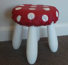 Make A Mushroom Seat From An Ikea Stool - Everywhere Red Toadstool Table Masquespacio Designs Adstoolshaped Fniture For Missana Mushroom Kids Stool Uncategorized Chez Moi By Haute Living Propbox Event Props Fniture Hire Dublin How To Make A Bistro Set Garden In Peterborough Swedish Woodland Robins Floral Side Magentarose Toadstools Fairy Garden