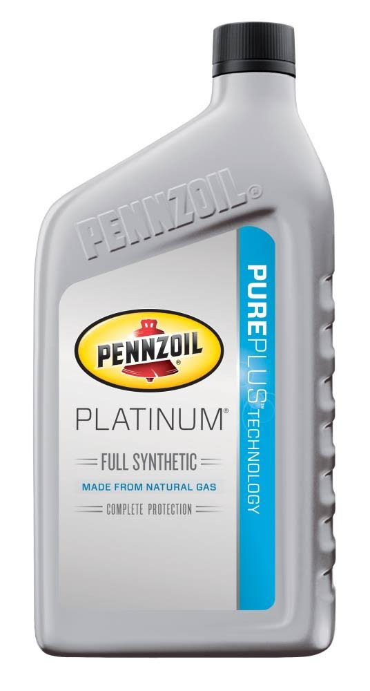 Pennzoil Platinum Full Synthetic Motor Oil - 1qt