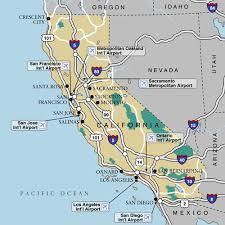 California Htm Free Road Map