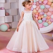 kids party dresses baby girls dresses for weddings gown designs