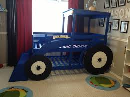 100 Kids Truck Bed Tractor Blue New Furniture Fascinating