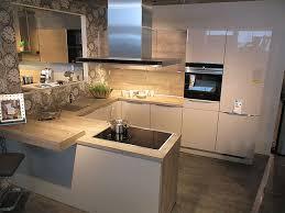 nobilia musterküche moderne u küche mit tresen