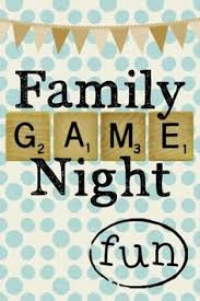 Game Clipart Family Night 1